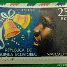 Sellos: SELLO GUINEA ECUATORIAL NAVIDAD 1980 25 BK Nº 25. Lote 235456565