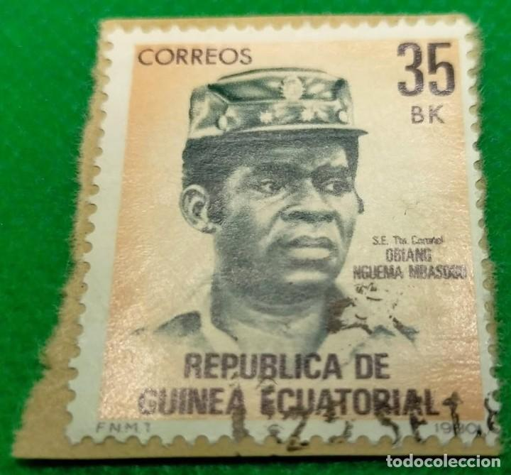 SELLO GINEA ECUATORIAL 1981 50 Nº 21 (Sellos - Extranjero - África - Guinea Ecuatorial)