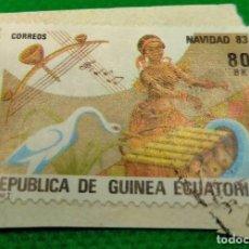 Sellos: SELLO GUINEA ECUATORIAL 1983 NAVIDAD Nº 49. Lote 235680020