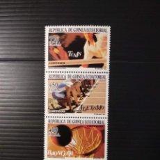 Sellos: SELLOS DE GUINEA ECUATORIAL EDIFIL Nº 337/340. Lote 240618390