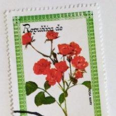 Sellos: SELLO DE GUINEA ECUATORIAL 8 E - 1979 - ROSA MARY - USADO SIN SEÑAL DE FIJASELLOS. Lote 242052295