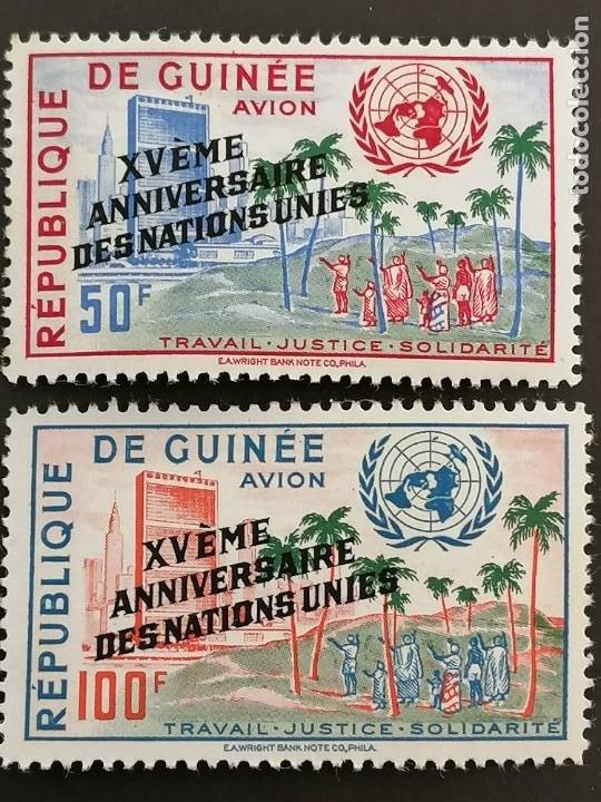 GUINEA, YVERT AÉREO 14-15** (Sellos - Extranjero - África - Guinea Ecuatorial)