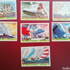 Francobolli: GUINEA ECUATORIAL 1976 OLIMPIADA MONTREAL 76 MICHEL 784/790 YVERT 84 + PA69 - NUEVOS MNH. Lote 259852165