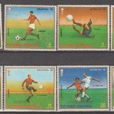 Sellos: REPUBLICA DE GUINEA ECUATORIAL,1977.. Lote 261998090