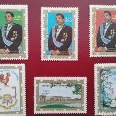 Francobolli: GUINEA ECUATORIAL 1975 PRESIDENTE MACIAS NGUEMA MICHEL 752/757 YVERT 74 - NUEVOS MNH. Lote 265921788