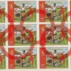 Sellos: GUINEA ECUATORIAL 1978 JUEGOS OLÍMPICOS DE MOSCÚ 1980 FÚTBOL SIN DENTAR MICHEL A1294 YVERT PA 119. Lote 270200238