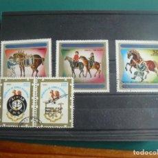 Francobolli: 5 SELLOS DE GUINEA ECUATORIAL. Lote 276359163