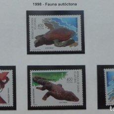 Sellos: 1997-GUINEA ECUATORIAL REPUBLICA-SELLOS-SERIE COMPLETA-FAUNA AUTOCTONA. Lote 278457283