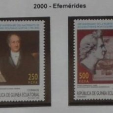Sellos: 2000-GUINEA ECUATORIAL REPUBLICA-SELLOS-SERIE COMPLETA-EFEMERIDES. Lote 278458133