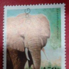 Selos: GUINEA 1997. AFRICAN ELEPHANT (LOXODONTA AFRICANA) MI:GN 1635,. Lote 286574283