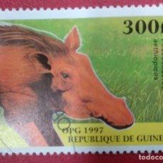 Selos: GUINEA 1997. COMMON WARTHOG (PHACOCHOERUS AFRICANUS)O: MI:GN 1633,. Lote 286574438