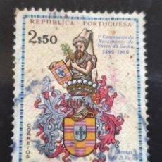Sellos: MICHEL PT-GN 336 - GUINEA PORTUGUESA - 500TH BIRTHDAY VASCO DA GAMA - 1969. Lote 288607263