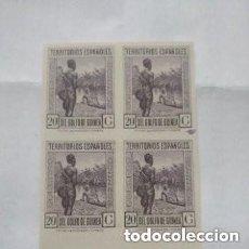 Sellos: 1932 ESPAÑA - GUINEA EDIFIL NE11C - BLOQUE 4 - MNH SIN GOMA - VALOR 328 €. Lote 295809453