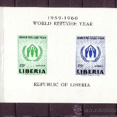 Sellos: LIBERIA HB 15*** - AÑO 1960 - AÑO MUNDIAL DEL REFUGIADO. Lote 22461468