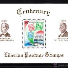 Sellos: LIBERIA HB 17** - AÑO 1961 - CENTENARIO DEL SELLO . Lote 42926300
