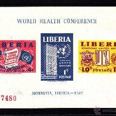 Sellos: LIBERIA HB 5* - AÑO 1953 - HOMENAJE A NACIONES UNIDAS . Lote 42982212