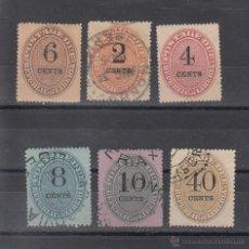 Sellos: LIBERIA TASA 3/7, 9 USADA, . Lote 43588750