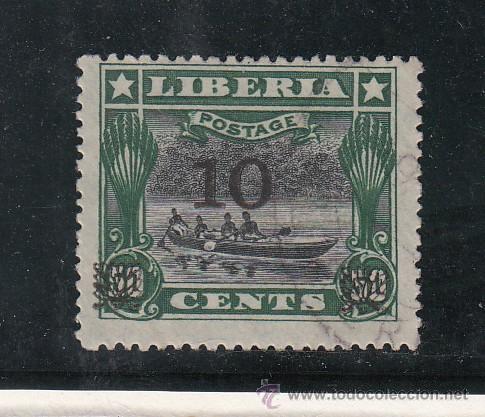 LIBERIA 122B USADA, (Sellos - Extranjero - África - Liberia)