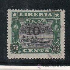Sellos: LIBERIA 122B USADA, . Lote 43589399