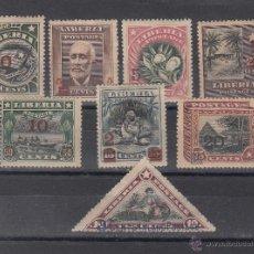 Sellos: LIBERIA 116/23 CON CHARNELA, . Lote 43589519