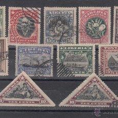Sellos: LIBERIA 97/107 USADA,. Lote 43600322