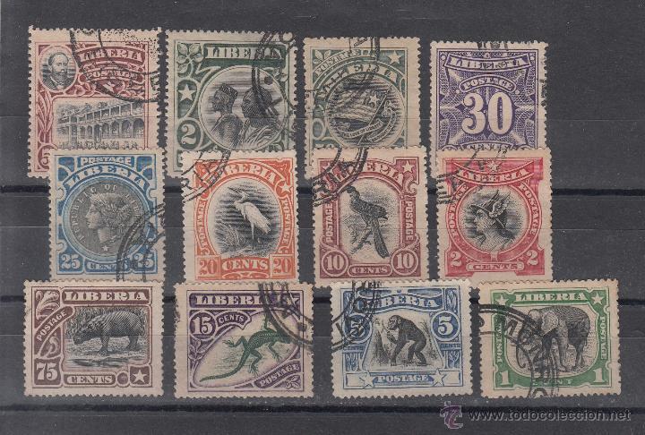 LIBERIA 84/93, 95/6 USADA, (Sellos - Extranjero - África - Liberia)