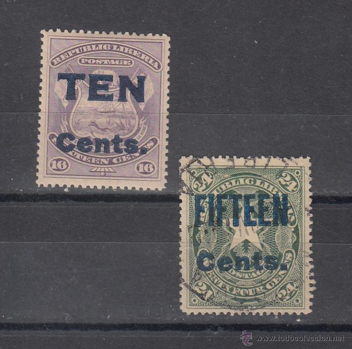 LIBERIA 75/6 USADA, (Sellos - Extranjero - África - Liberia)