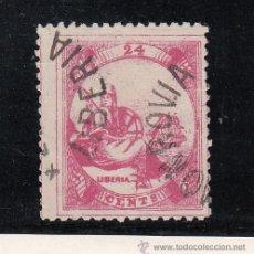 Sellos: LIBERIA 14 USADA,. Lote 43600468