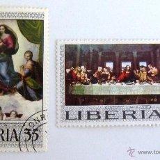 Sellos: SELLOS LIBERIA 1969. MATASELLADOS.. Lote 47716442