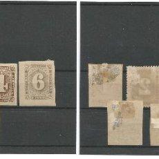 Sellos: 1886-92 - SERIE COMPLETA CIFRAS - LIBERIA. Lote 50092740