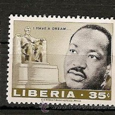Sellos: LIBÉRIA ** & MARTIN LUTHER KING 1968 (986). Lote 50419640