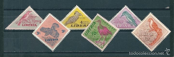 LIBERIA Nº 318/23 (YVERT). AÑO 1953. (Sellos - Extranjero - África - Liberia)