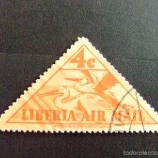 Sellos: LIBERIA 1938 AIGRETTES YVERT Nº PA 10 º FU . Lote 60387075