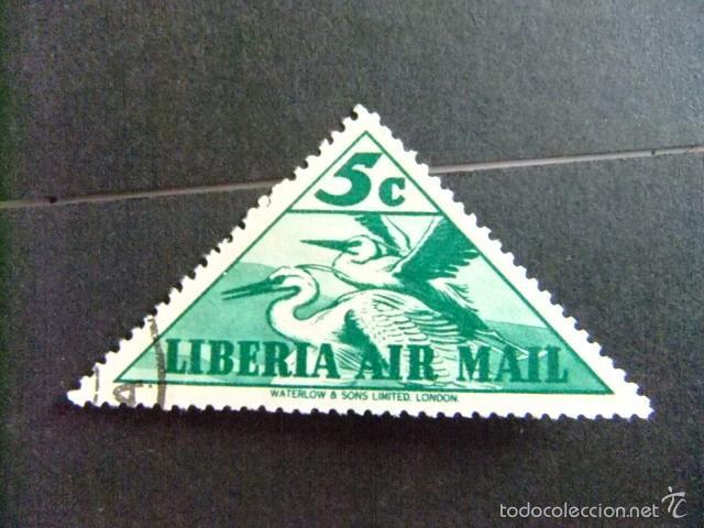 LIBERIA 1938 AIGRETTES YVERT Nº PA 11 º FU (Sellos - Extranjero - África - Liberia)