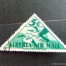 Sellos: LIBERIA 1938 AIGRETTES YVERT Nº PA 11 º FU. Lote 60387275