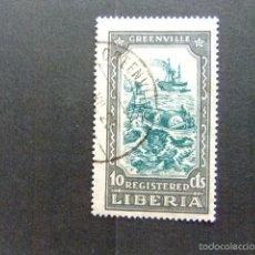 Sellos: LIBERIA 1924 GREENVILLE YVERT Nº S 36 º FU. Lote 60393191