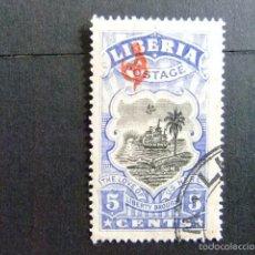Sellos: LIBERIA 1918 ARMOIRES YVERT Nº S 92 º FU. Lote 60393203