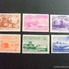 Sellos: LIBERIA 1953 SUJETS DIVERS YVERT Nº PA 67 / 72 ** MNH. Lote 60393343