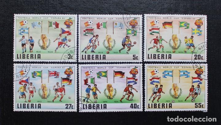Sellos: NIGER 1981, COUPE DU MONDE DE FOOTBALL, ESPAÑA 82 COPA MUNDIAL DE FUTBOL, SERIE COMPLETA - Foto 2 - 87549604