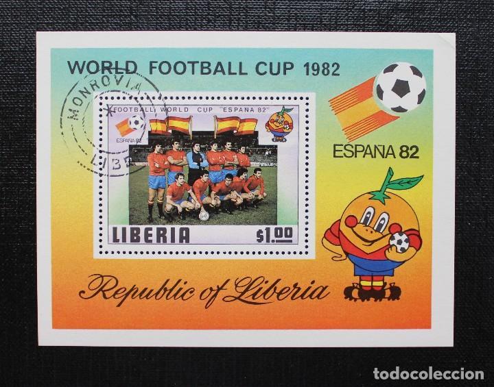 Sellos: NIGER 1981, COUPE DU MONDE DE FOOTBALL, ESPAÑA 82 COPA MUNDIAL DE FUTBOL, SERIE COMPLETA - Foto 3 - 87549604