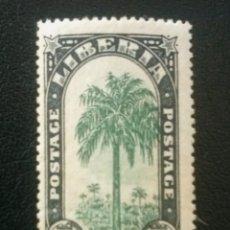 Sellos: LIBERIA , YVERT Nº 144 * CHARNELA, 1918 . Lote 89382520