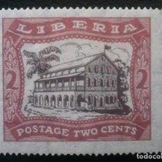 Sellos: LIBERIA , YVERT Nº 200 * CHARNELA , 1923-24. Lote 89385496