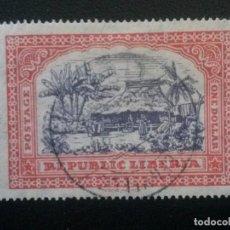 Timbres: LIBERIA , YVERT Nº 210 , 1923-24. Lote 89385552