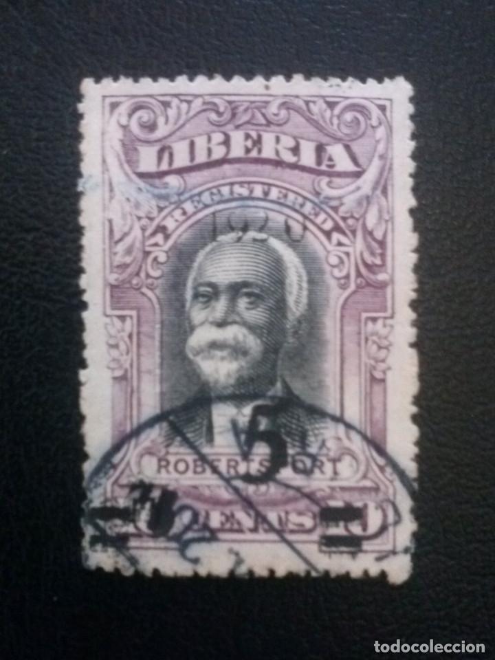 LIBERIA , CARTAS REGISTRADAS ,YVERT Nº 24 , 1920 (Sellos - Extranjero - África - Liberia)