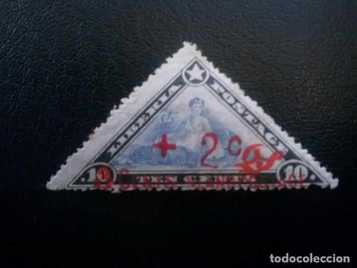 LIBERIA , SERVICIO OFICIAL ,YVERT Nº 72 * CON CHARNELA , 1915 (Sellos - Extranjero - África - Liberia)