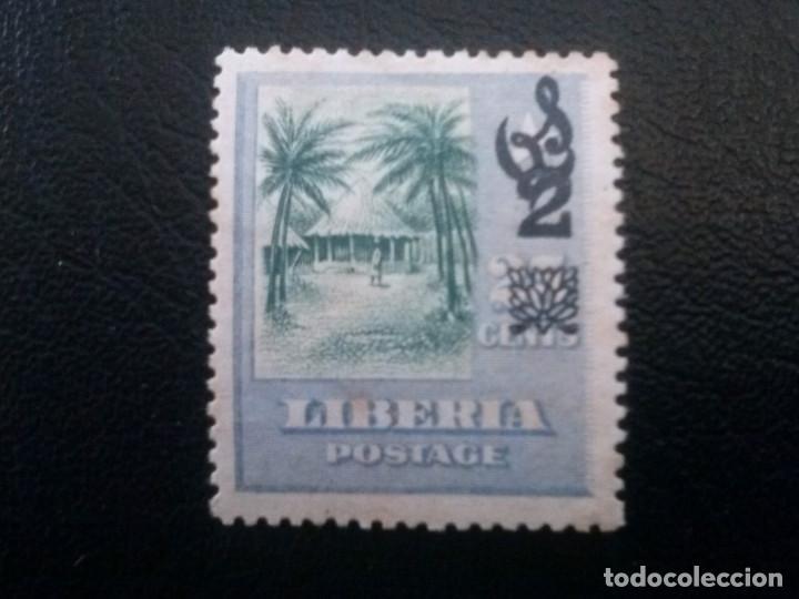 LIBERIA , SERVICIO OFICIAL ,YVERT Nº 74 * CON CHARNELA , ÓXIDO, 1916 (Sellos - Extranjero - África - Liberia)