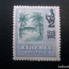 Sellos: LIBERIA , SERVICIO OFICIAL ,YVERT Nº 74 * CON CHARNELA , ÓXIDO, 1916. Lote 89543064