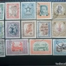 Sellos: LIBERIA , SERVICIO OFICIAL ,YVERT Nº 133 - 146 SERIE COMPLETA , 1923. Lote 89546920