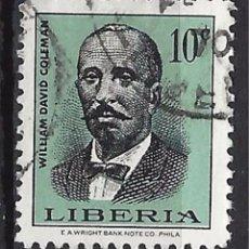 Sellos: LIBERIA - SELLO USADO. Lote 91057685
