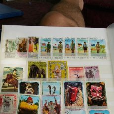 Sellos: LOTE DE 40 SELLOS DE LIBERIA. Lote 94994612